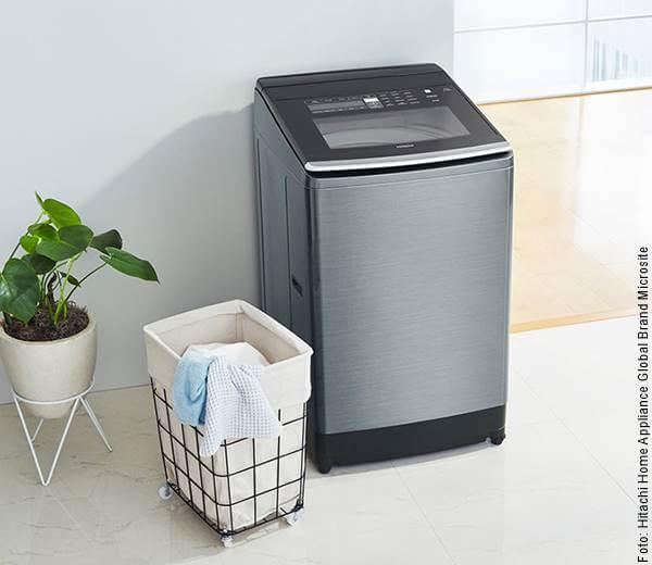 Foto de una lavadora