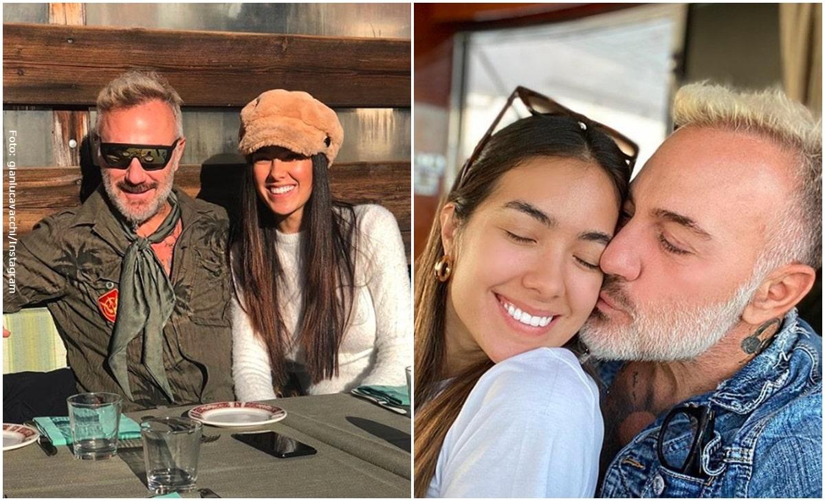 Gianluca Vacchi y su joven novia Sharon Fonseca tendrán un hijo