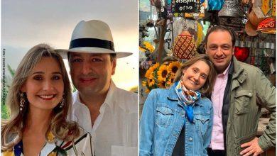 Jorge A. Vargas e Inés María celebraron su aniversario 24 con foto