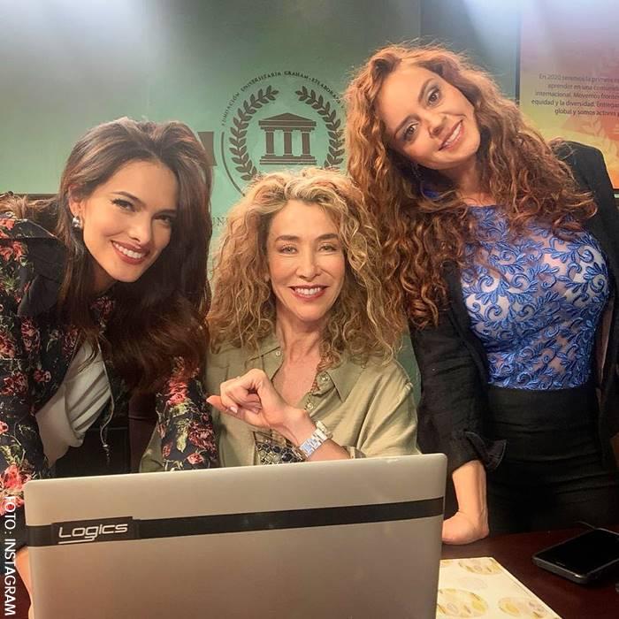 Liliana González, Marcela Carvajal y Ángela Piedrahita en La Nocturna