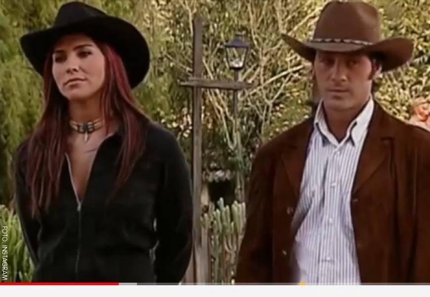 Lorena Meritano y Juan Pablo Shuk en Pasión de Gavilanes