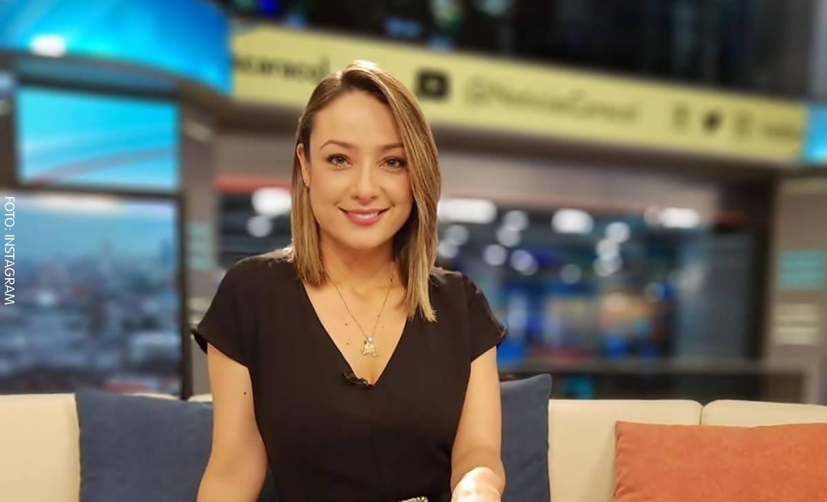 Mónica Jaramillo parece otra sin maquillaje y al natural