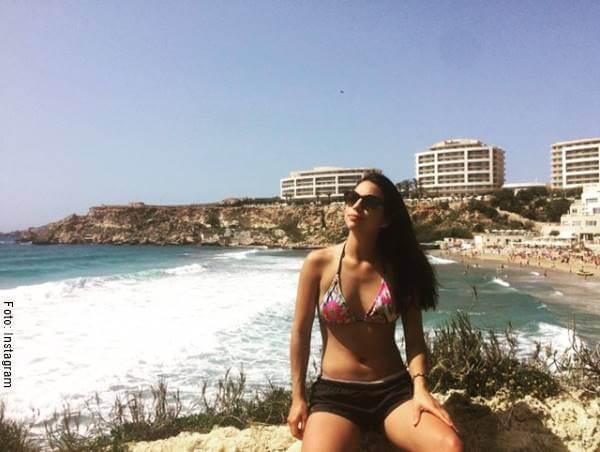 Foto de Karol Parra en bikini