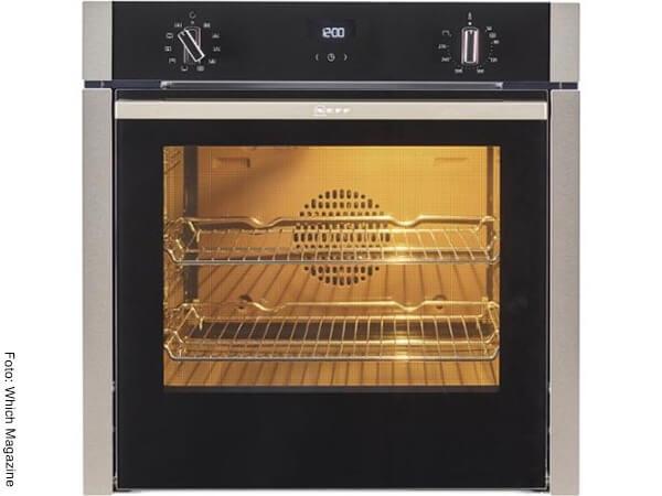 Foto de un horno precalentado
