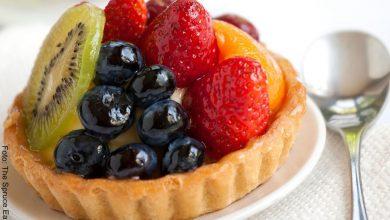 Receta de tartaleta de frutas, dulce y nutritiva