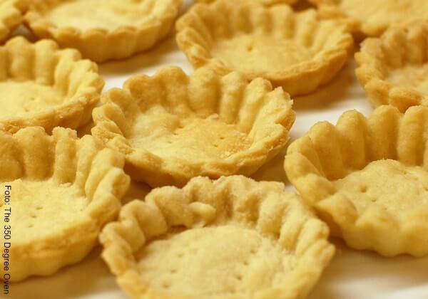 Foto de hojaldre para receta de tartaleta de frutas, dulce y nutritiva