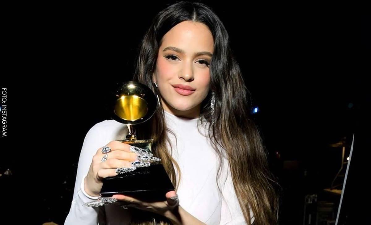 Rosalía imitó a Shakira durante un reto musical