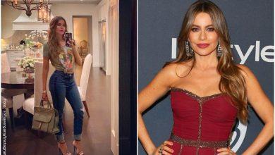 Sofía Vergara deslumbró a sus seguidores con foto en traje de baño