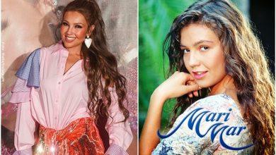 Thalía recordó su papel de Marimar con un gracioso video en el baño
