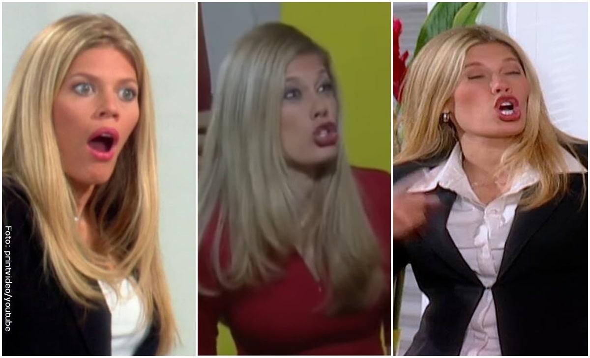 """VIDEO: Todos los """"desgraciado"""" que dijo Lorna Cepeda en Betty la fea"""