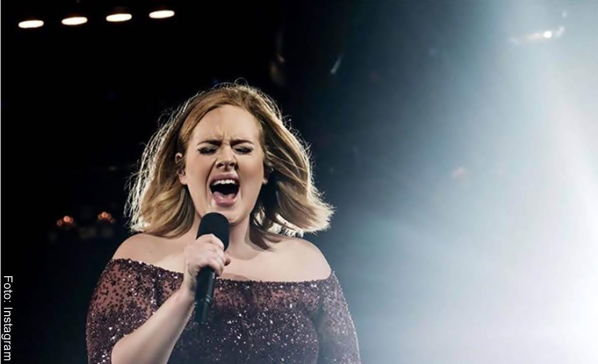 ¿Viste a Adele delgada? Y lo logró a punta de dieta
