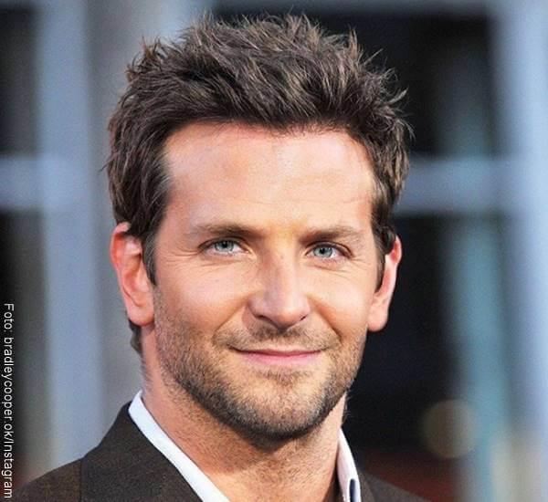 Foto de Bradley Cooper, uno de los 10 hombres famosos con el rostro perfecto