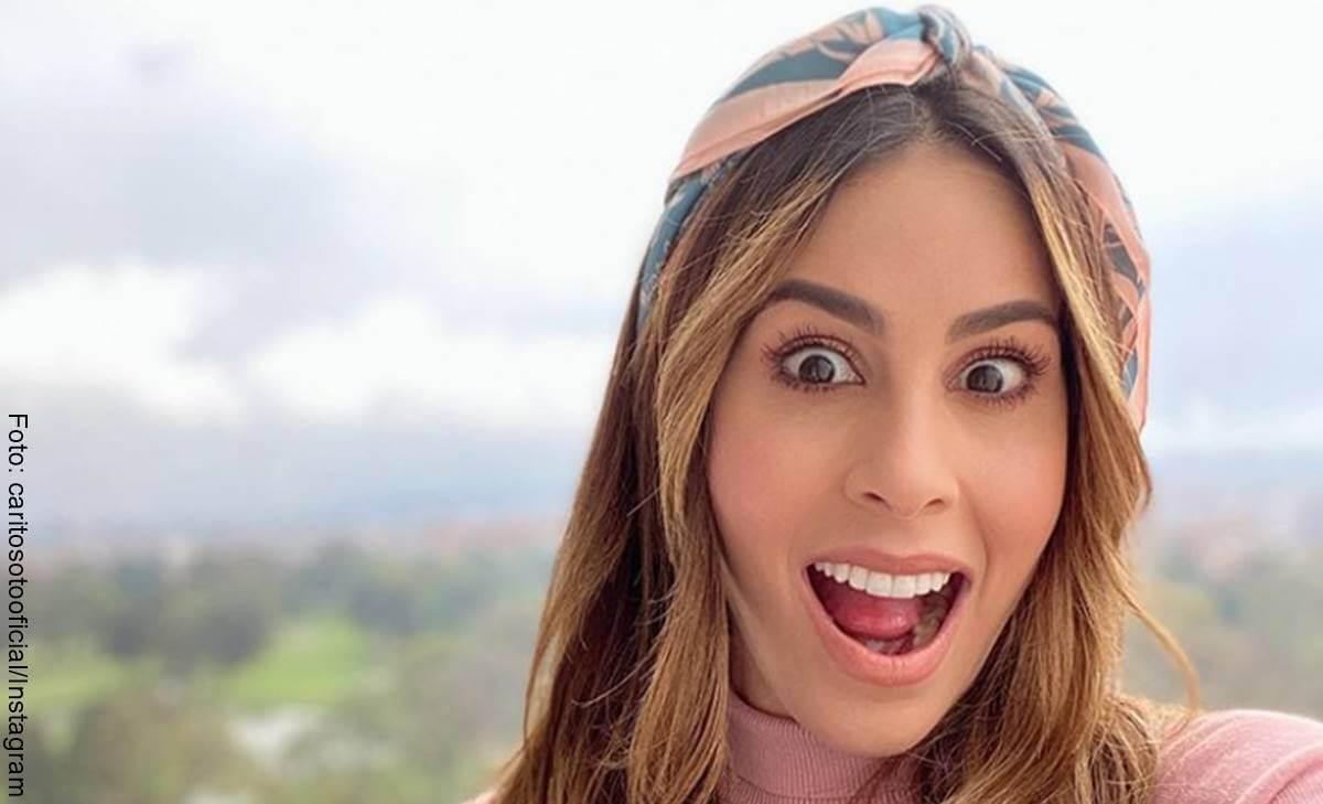 """Carolina Soto en Instagram mostró cómo le toca """"voltear"""""""