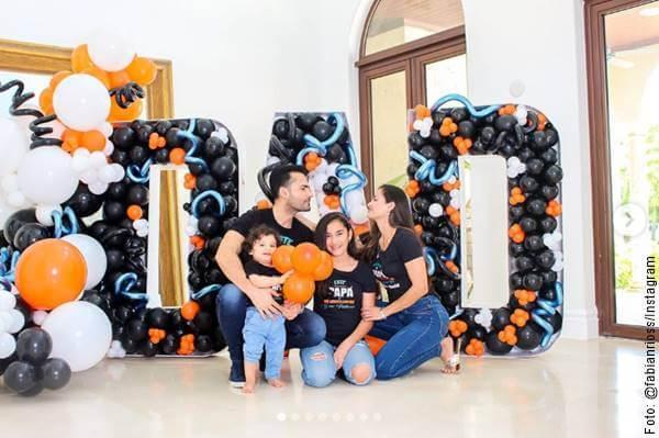 Foto de Fabián Ríos para ejemplificar el Día del Padre 2020 fue así para los famosos colombianos
