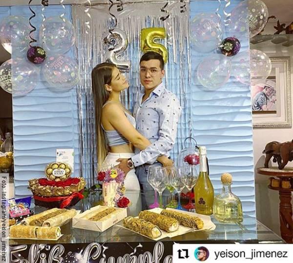 Foto de Yeison Jiménez y Sonia Restrepo en famosos que dejaron a sus esposas