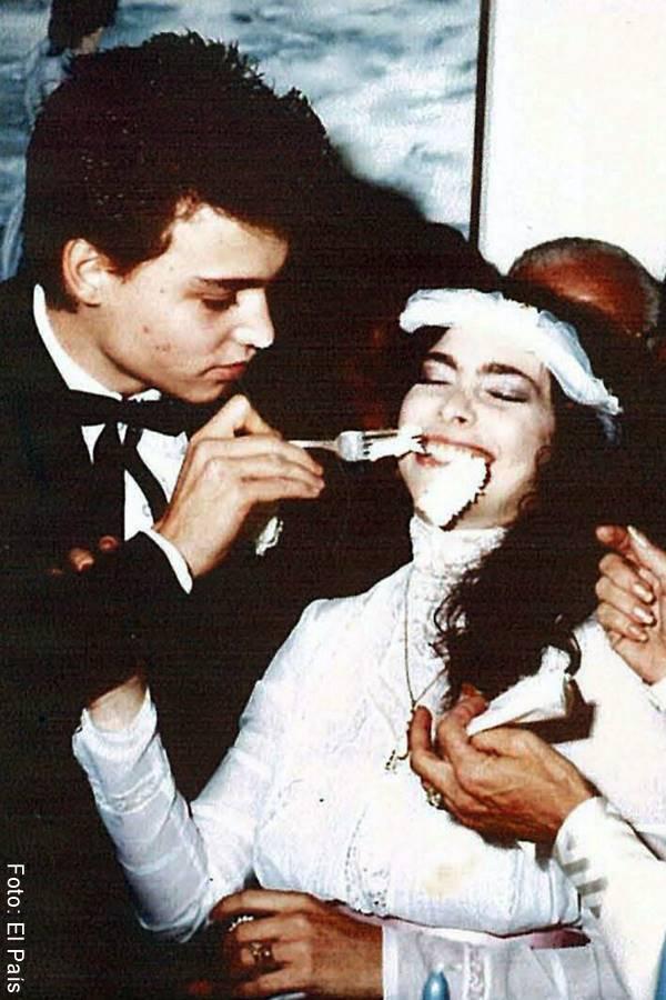 Foto de Johnny Depp y Lori Anne