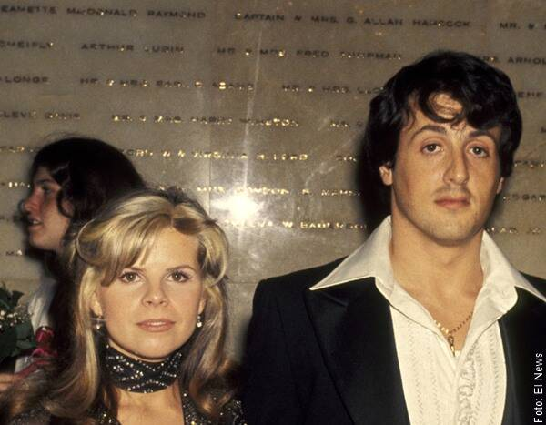Foto de Sylvester Stallone y Sasha Czack