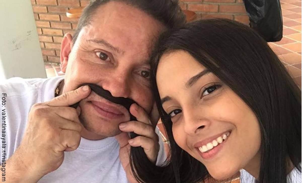Hija de Giovanny Ayala es tremenda mamacita