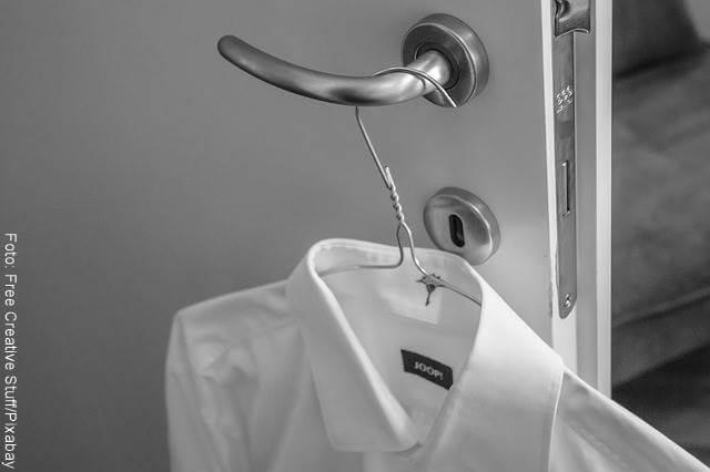 Foto de camisa blanca