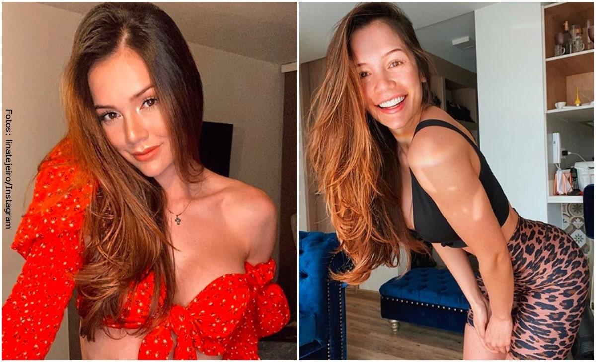 Lina Tejeiro mostró cómo ha cambiado su cuerpo en los últimos meses