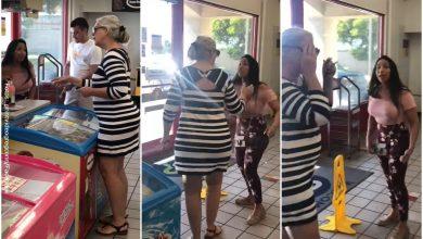 Mujer latina se cansó de los insultos de una racista y la cacheteó