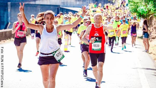Foto de carrera de atletismo