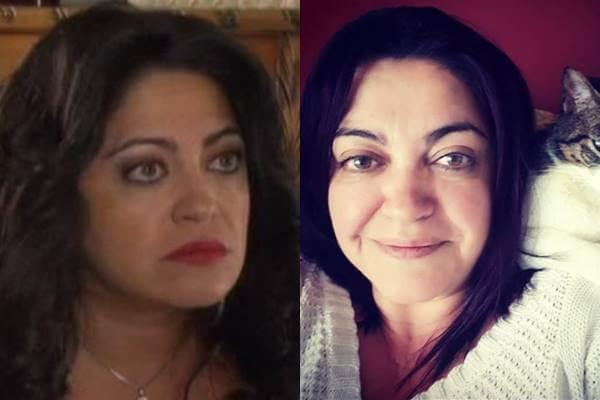 Foto antes y después de Marcela Benjumea