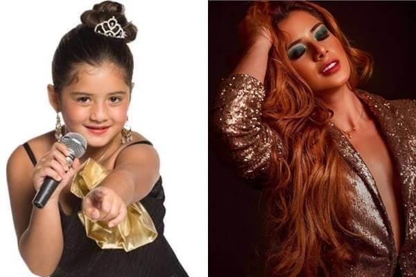 Foto antes y después de Rafaella Chávez