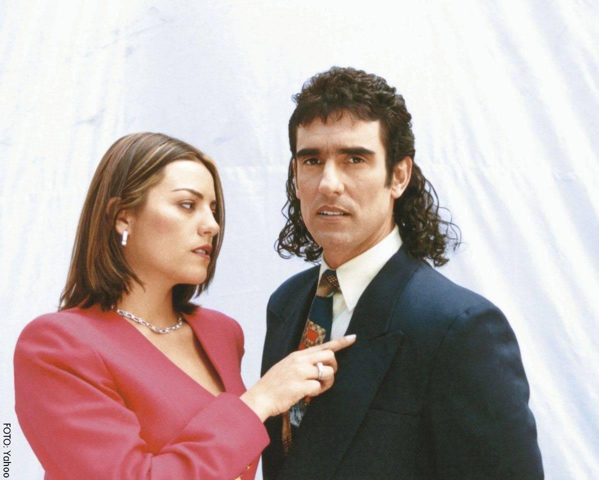 Sandra Reyes como la doctora Paula y Miguel Varoni como Pedro el Escamosoctora Paula y