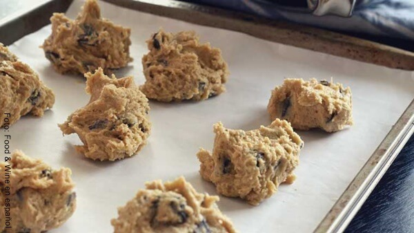 Foto de masa de galletas para hornear