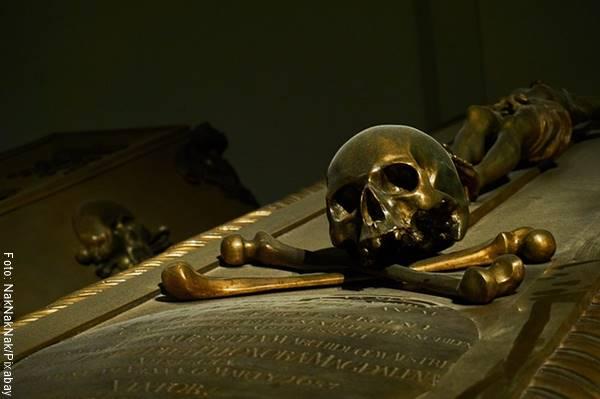 Foto de un sarcófago