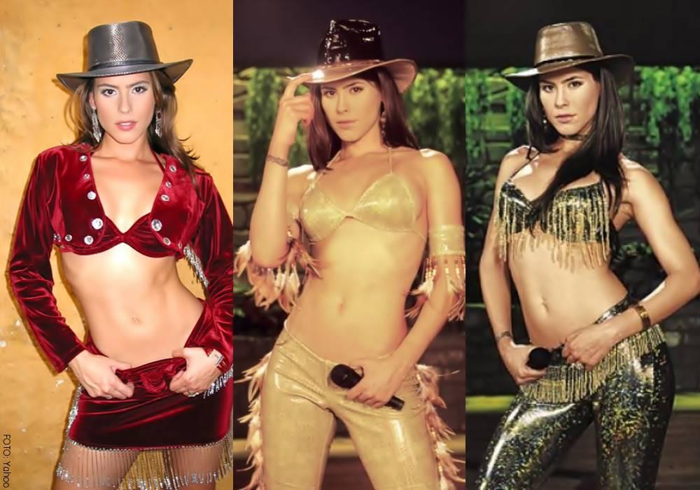 Fotos de Zharick León con diferentes vestidos en Pasión de Gavilanes