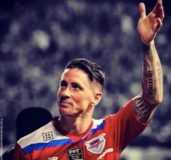 Foto: Fernando Torres es uno de los 10 futbolistas que son lindos por sus tatuajes
