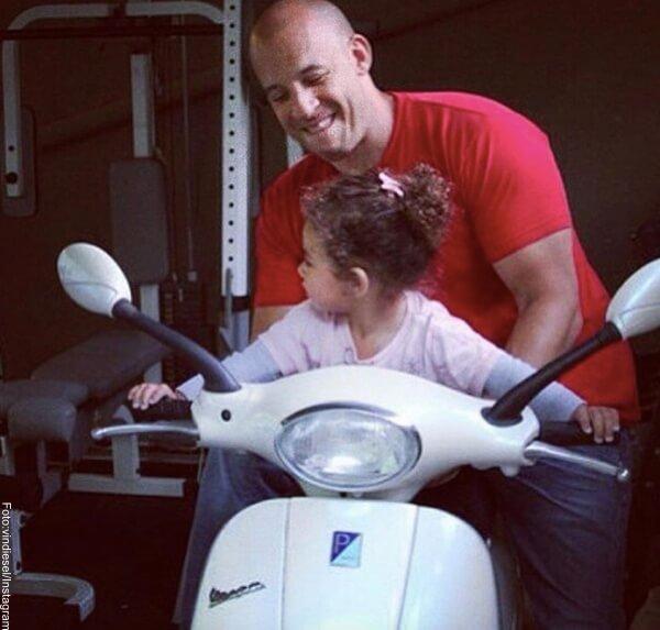 Foto: Vin Diesel con su hija