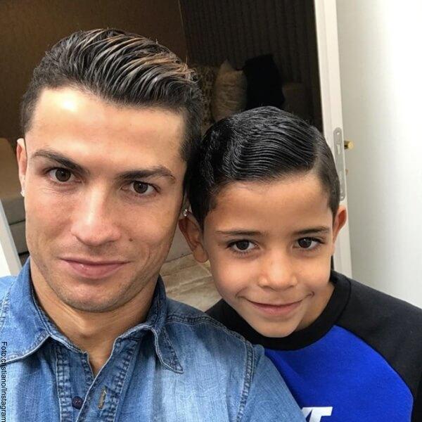 Foto Cristiano Ronaldo con su hijo