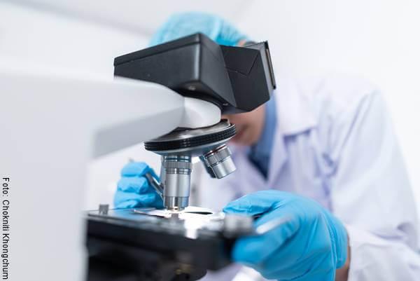 Foto de un microscopio para ilustrar las lecciones que deja el coronavirus