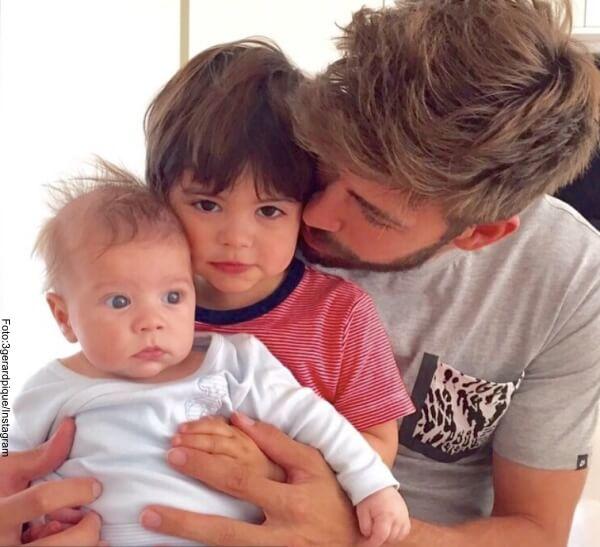 una de las 6 imágenes que hacen de Piqué un gran padre