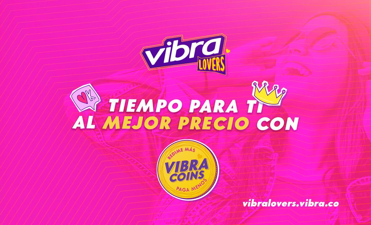 Ahorra tiempo y dinero con los vibra coins Vibra Lovers