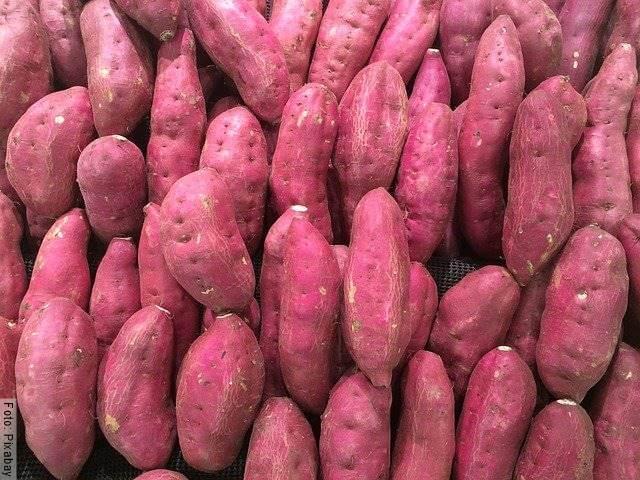 Foto de unas batatas