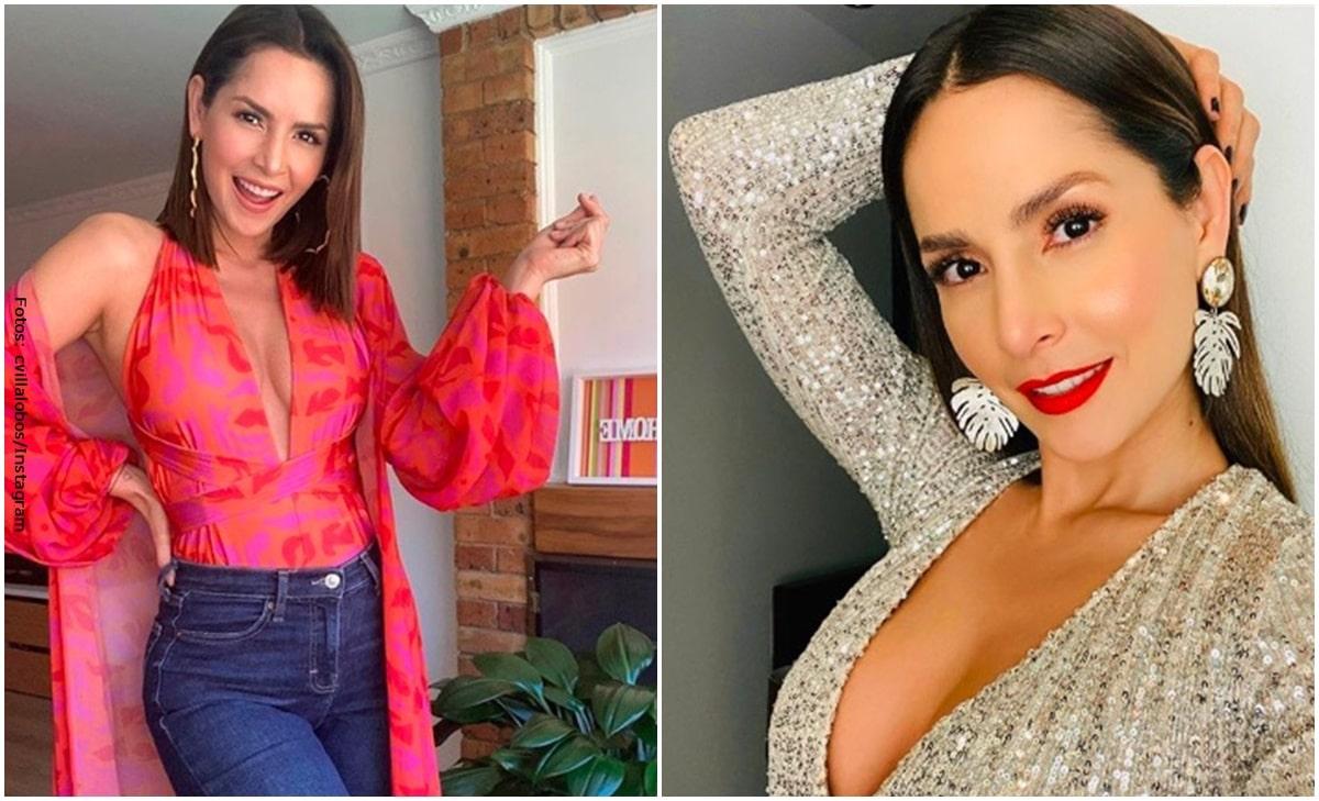 Carmen Villalobos sedujo a sus seguidores con atrevido escote