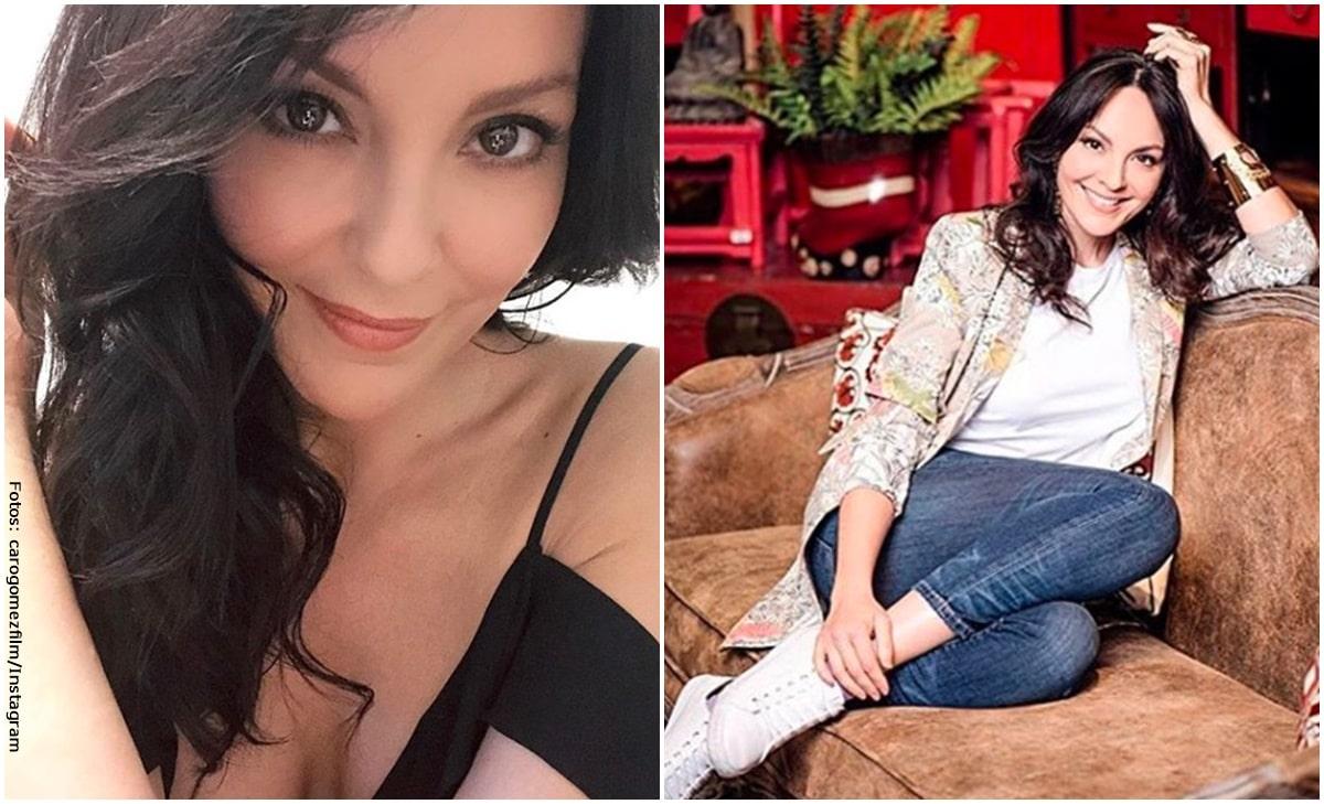 Carolina Gómez presumió su esbelta figura con foto en bikini