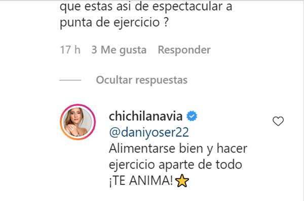 Print de Instagram de Cecilia Navia