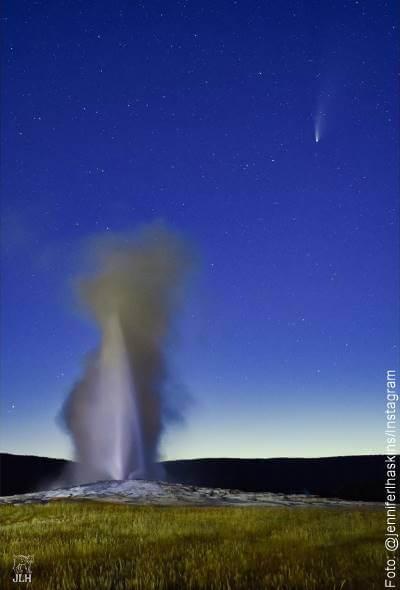 Foto del Cometa Neowise