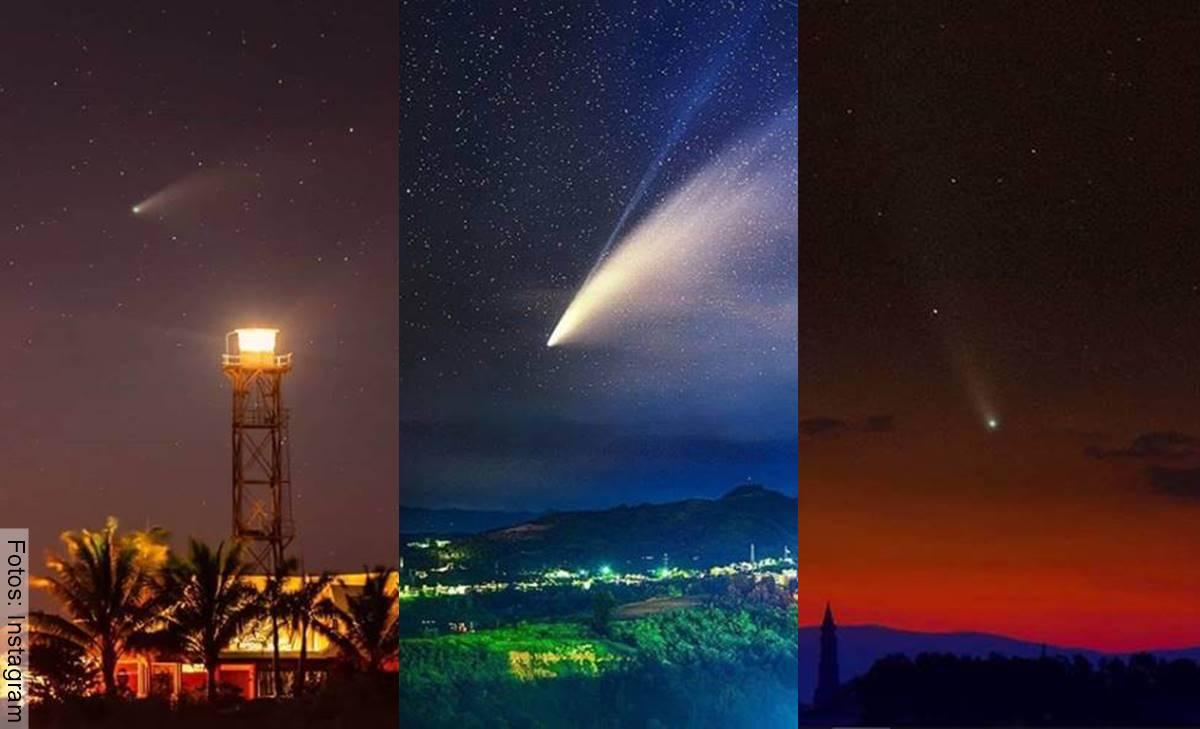 Cometa Neowise: Las mejores imágenes de su paso por la Tierra