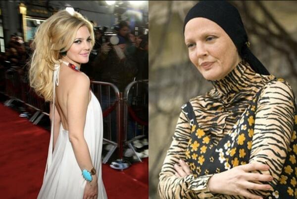 """Cómo ha cambiado Drew Barrymore desde """"E.T."""""""