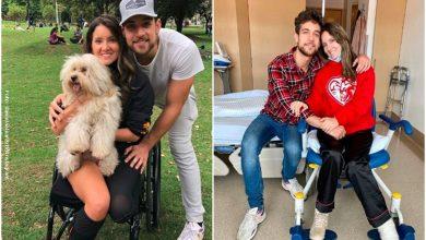 Daniella Álvarez fue retada por su novio… ¡A besos!