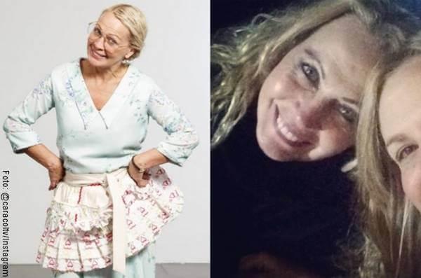 Foto antes y después de Myriam de Lourdes