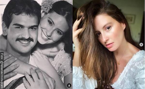 Foto antes y después de Taliana Vargas