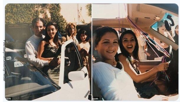 Así era Kim Kardashian hace 20 años