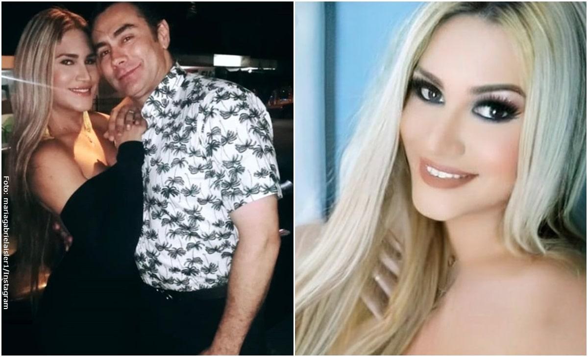Gabriela Isler, esposa de Mauro Urquijo posó sin ropa y al natural